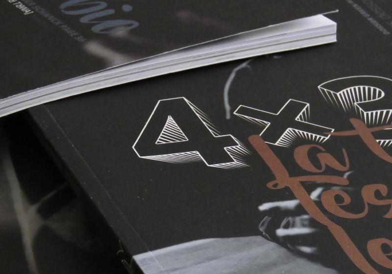 Mise en page éditoriale du magazine luxembourgeois 4×3